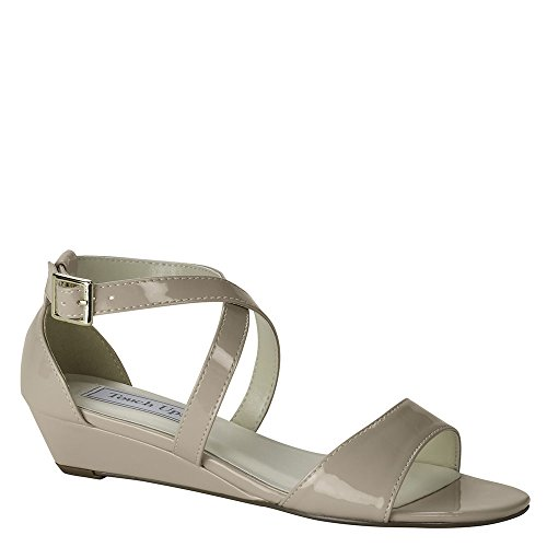Touch Ups Shyla Women's Sandal 5 B(M) US Nude