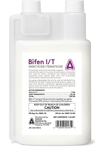 3/4 gal Bifen IT Generic talstar Pro / One 7.9% Bifenthrin Multi Use Pest Control Insecticide.. 96 ounce jug by CSI