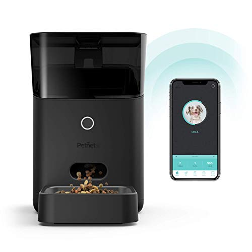 Petnet SmartFeeder (2nd generation) - Automatic Wi-Fi Pet Feeder with Personalized Portions for Cats and Dogs - App for Android, iOS and Works with Amazon Alexa by Petnet
