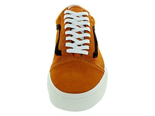 Vans - Zapatillas de Piel para mujer Naranja naranja Naranja - naranja