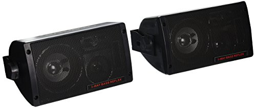 Pyramid 2060 300-Watt 3-Way Mini Box Speaker