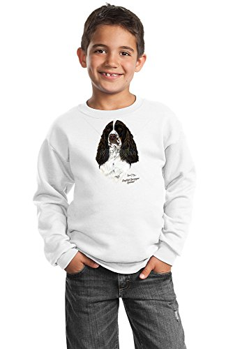 Springer Spaniel Youth Sweatshirt by Robert May