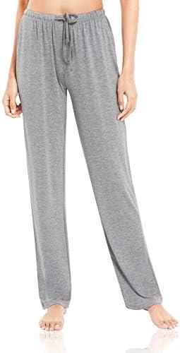 Women's Pajamas Pants Wide Leg Casual Lounge Bottoms Bamboo Sleep Pants S-4X
