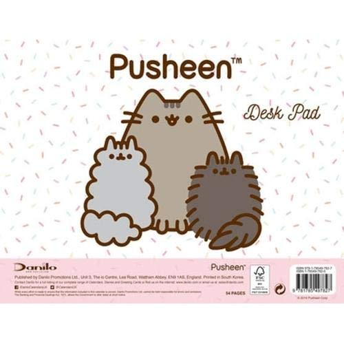 Pusheen Desk Pad Official 2019 Calendar - Desk Pad Format ...