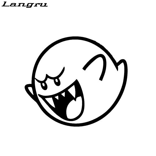 Tamiko New Style Video Game Ghost Decal Stance Vinyl Stickers Illest Lowered Turbo Funny Vinyl Decal - (Color Name: As a picture ) ()