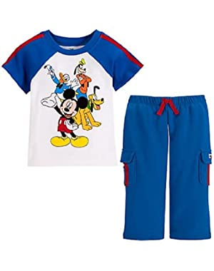 Mickey Mouse & Friends Fab Four Baby Boys' Clothing Set