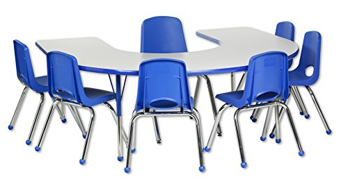 Horseshoe Table For Classroom - 4