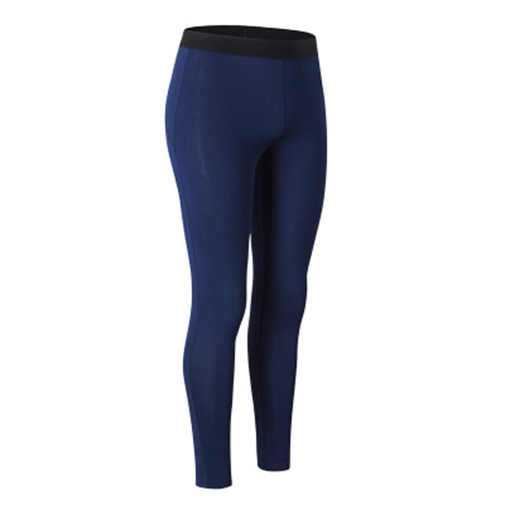 Feidaeu Damen Sportswear Strumpfhosen Winter Turnhose Schnell trocknend und atmungsaktiv Samt Kompressionsstrumpfhose Elastische Hose