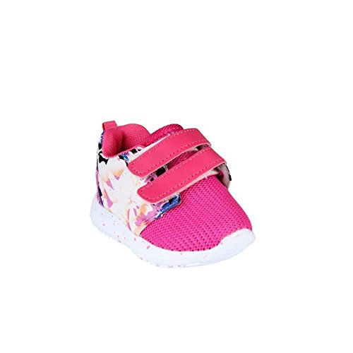 Basket flexible con velcro, color rosa