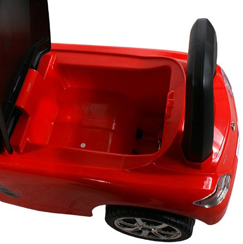 Rouge Ride-On Activity Toy tirer Trotteur Porteur Baby Car ARTI Mercedes SLS AMG 332 Red Jouets