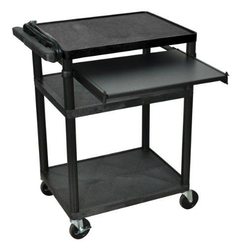 LUXOR LP34LE-B Presentation Cart, ()