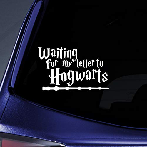 Bargain Max Decals Waiting for Letter from Hogwarts Sticker Decal Notebook Car Laptop 5.5
