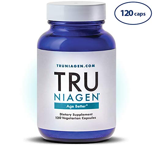 TRU NIAGEN - 300mg 60 Day - Vitamin B3 | Advanced NAD+ Booster | Nicotinamide Riboside NR | Increases Energy & Promotes Anti Aging