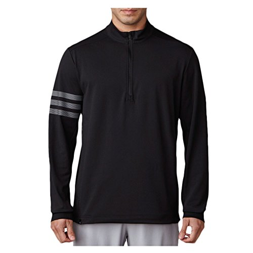 adidas Golf Men's Adi Competition 1/4 Zip Jacket, Black, X-Large