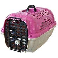 Caixa Transporte Panther Pop N.3 Rosa Plast Pet para Cães