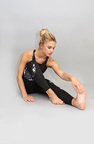 para nunca negro mujeres leggings Acai Activewear crece fzq5fFw