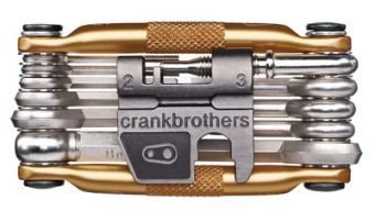 CRANKBROTHERs Crank Brothers Multi-17 Multi-Tool, Gold