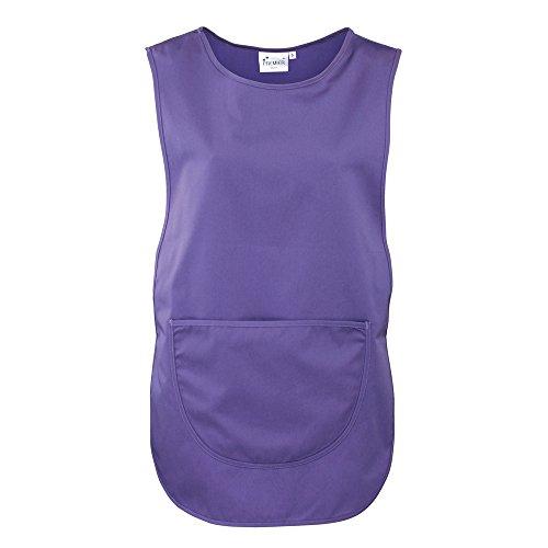 Workwear Premier Top Donna Ladies Pocket Purple Tabard zpd4pqrw