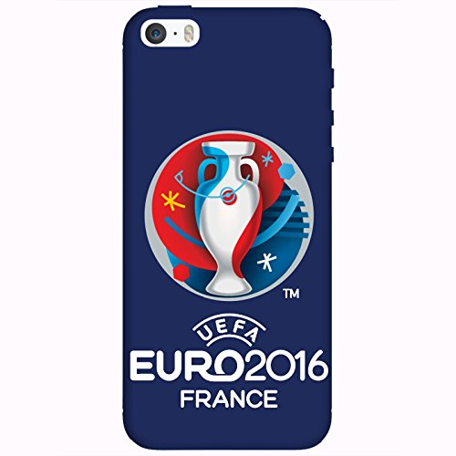 Coque Apple Iphone 5-5s-SE - UEFA Euro 2016 Bleu