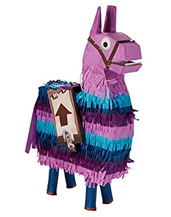 Amazon Com Spirit Halloween Fortnite Loot Llama Pinata Clothing