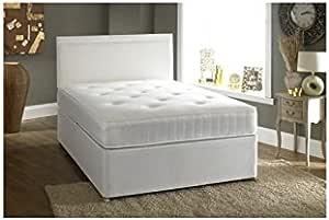 Confianza camas doble 4 ft 6 cama con canapé incluye 2 ...