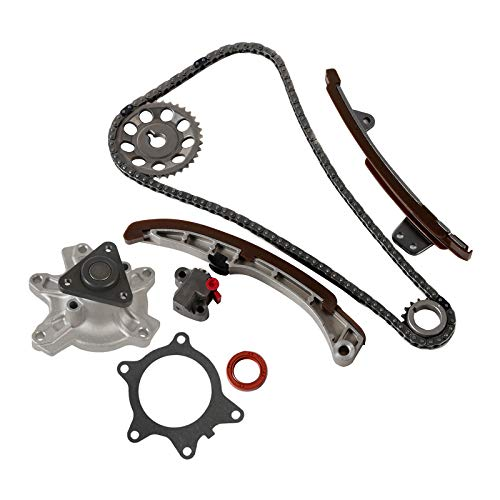 (MOCA Timing Chain Kit & Water Pump Set for 2004-2006 Scion XA XB & 2004-2009 Toyota Echo Prius & 2006-2012 Toyota Yaris 1.5L L4 1NZFE 1NZFXE)