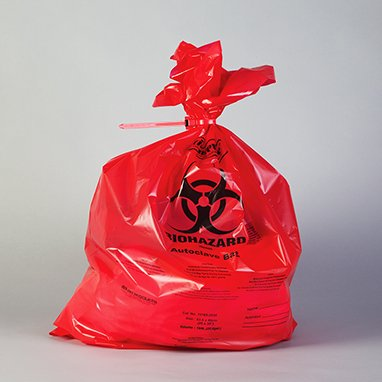 Divine Medical Autoclavable Biohazard Bags,Capacity 10 to 12 Gallon,25 Per Pack by Divine Medical