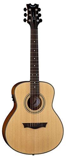 Dean Guitars 6 String Dean St. Augustine Mini Jumbo Solid Wood Acoustic Electric Guitar SAMJESN