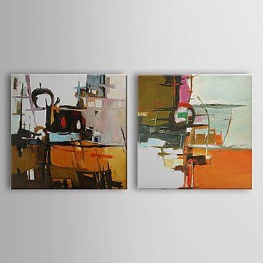 GOGO pintado a mano de pintura al óleo abstracto parches con ...