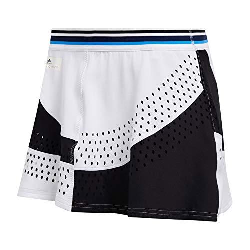 (adidas Women's Stella McCartney Q4 Skirt White/Black Small)