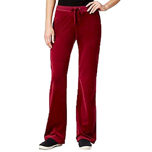 Hippie Rose Juniors' Velour Flare-Leg Pants (XS) ()