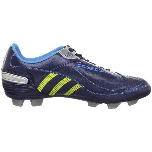 Scarpa Da Calcio Adidas Predator Absolado_x Trx Fg Da Uomo Nuova Navy / Ronzio Acido / Argento Metallizzato