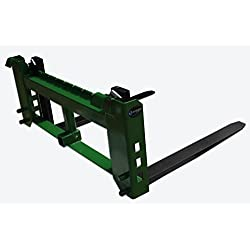 """Titan 42"""" Pallet Fork Attachment with 2"""""""