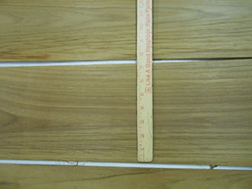 "10 Square feet Teak Veneer 1/4"" Thick Sanded All Heartwood, kiln Dried, Teak"
