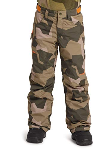 Burton System Snow Pants - Burton Kids & Baby Little Kids' Barnstorm Pant, Three Crowns Camo, Large