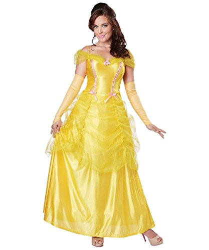 [Classic Belle Women Costume] (Womens Disney Princess Costumes)