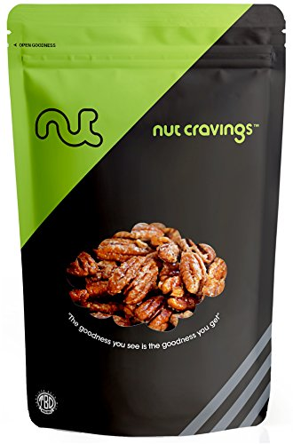 Nut Cravings - Fresh Honey Glazed Candied Pecans - 16 (Honey Glazed Pecans)