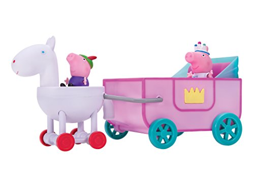 Peppa Pig Peppa Princess Carriage Feature Vehicle (Disney Cinderella Carriage)