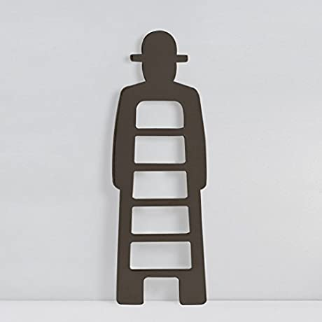 Slide Mr Gio Coat Rack Brown Chocolate