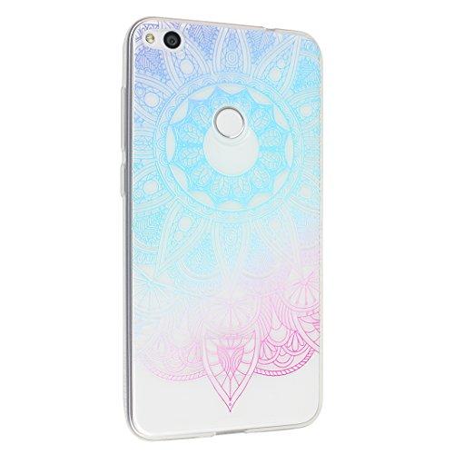 Huawei P8 Lite 2017 Case, Asnlove Carcasa TPU Silicona Bumper Shock-Absorción Slim Silicon Funda Trasera Back Cover Phone Shell Protector Funda Para Huawei P8 Lite 2017 Totem-10