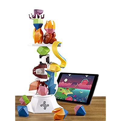 Beasts of Balance - A Digital Tabletop Hybrid Family Stacking Game For Ages 7+ (BOB-COR-WW-1/GEN): Toys & Games
