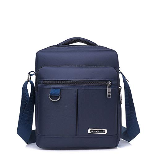 Waterproof Tactical Laptop Men's Nylon Blue Zhrui Messenger Shoulder Versatile Of Made Bag Military 8ZI6R