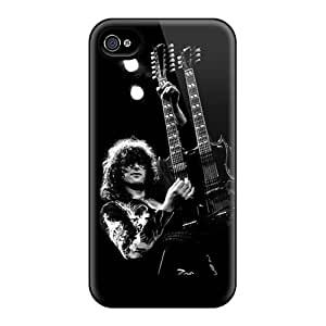 Durable Hard Cell-phone Cases For Iphone 6 (Mme3502iKWC) Customized Realistic Led Zeppelin Jimmy Page Pictures