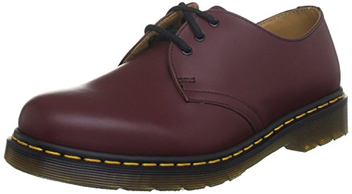 Dr. Martens Unisex 1461 Oxford,Cherry Red,5 F(M) UK / 6 D(M) US Men's/ 7 B(M) US Women's by Dr. Martens