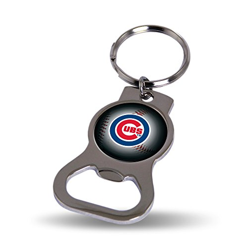 - Rico Industries Chicago Cubs Keychain and Bottle Opener
