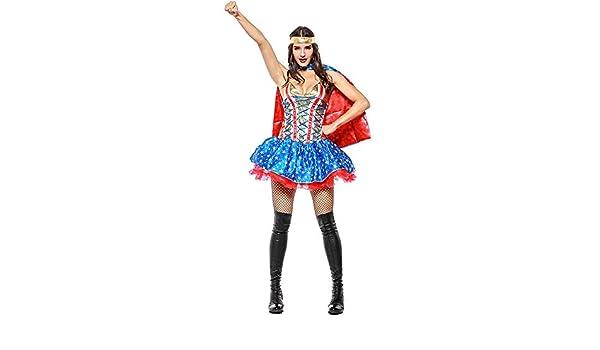 Cosplay Dress Fiesta De Mujer,Héroe Cómico Mujer Superman Sexy ...