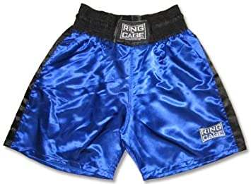 Amazon.com: Traditional Boxing Trunks, Blue or Red Color. Kids and ...