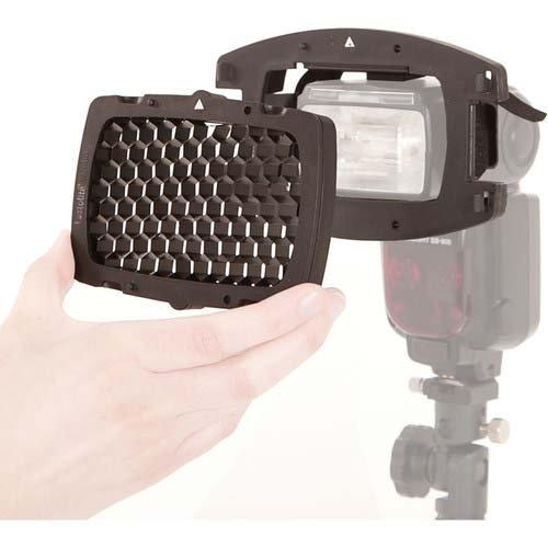 Lastolite LL LS2606 Strobo Honeycomb Starter Kit - Direct to Flashgun ()