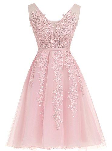 Robes De Mariée Robes De Mariée Courte De Bal Net 2017 Rose