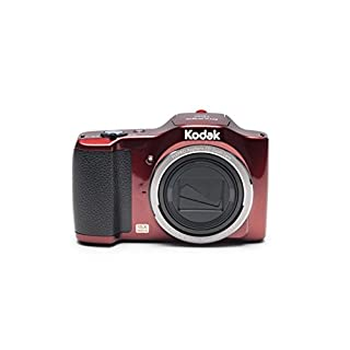 "Kodak PIXPRO Friendly Zoom FZ152-RD 16MP Digital Camera with 15X Optical Zoom and 3"" LCD (Red)"